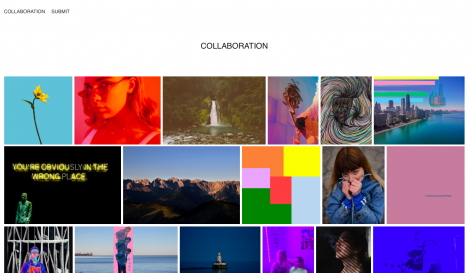 """Collaboration"" a website by Eli Hinerfeld, aims to unite people in art during a time of isolation."