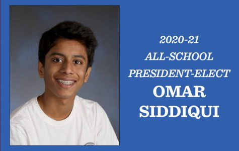 Omar Siddiqui and Adi Badlani elected all-school president and vice president