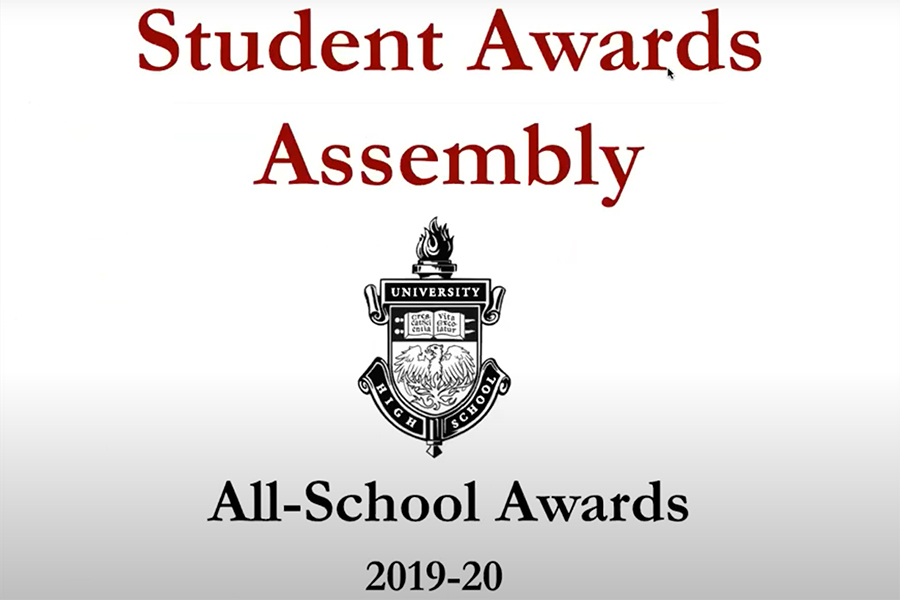 The student awards assembly, along with the senior celebration,  was presented on June 4 to pay tribute to student awards and achievements. Due to current circumstances, the celebrations were held through Zoom using presentations and slideshows.