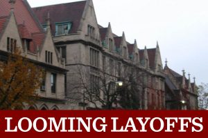 94 U-High faculty are at risk of being layed off in two years due to budgetary restrictions from a potential decrease in enrollment.
