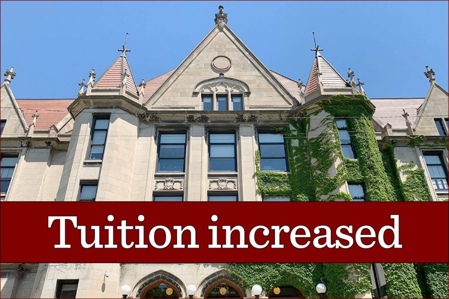 Tuition increase partially rolled back