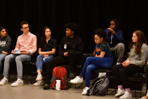 Members of the U-High community attended a meeting to discuss a racist incident March 11. Three months later, students are still calling for substantial change to Lab