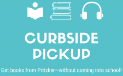 Book pickup will be available Monday through Friday, beginning Sept. 21, according to librarian Susan Augustine.