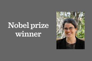 Lab alumna wins Nobel Prize in Physics