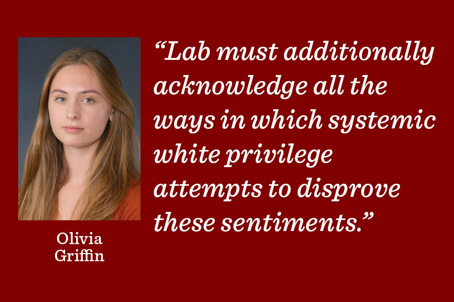 Lab must proactively counteract systemic racism