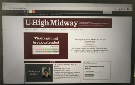 The U-High Midway selected new editors and positions for the 2020-21 academic year.