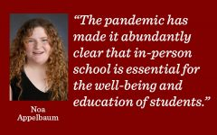 Students are overwhelmed and teachers must recognize this by giving less work, writes content manager Noa Appelbaum.