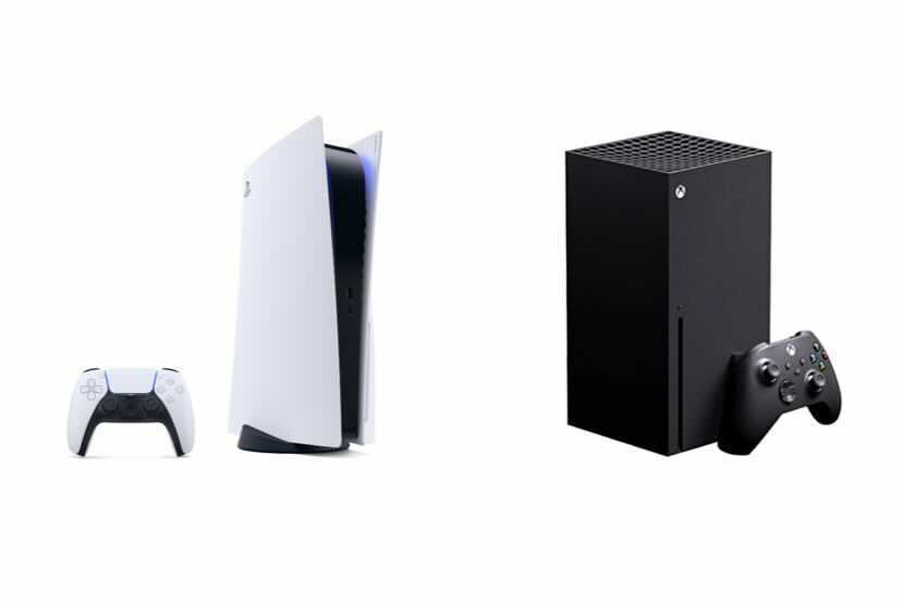 The PlayStation 5 (left) and Xbox Series X (right) were released Nov. 10 and Nov. 12 respectively to mark the launch of a new generation of gaming. Ever since the two consoles have been in high demand for their new games and capabilities and consumers have struggled to get ahold of them.