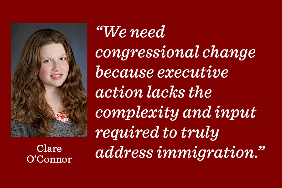 While Mr. Biden's decision to use executive action to carry out immigration reform is designed to protect a large group of vulnerable people, the U.S. government needs to stop relying on executive directives to change immigration policy, writes Clare OConnor.