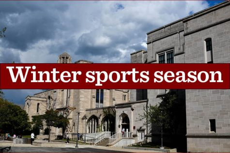 The decision to cancel winter sports was announced in an email Feb. 17.