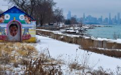 The Lakefront Trail is an 18-mile path that follows the Lake Michigan shoreline. Since Ms. Anderson was used to running on the lakefront, she was glad to discover different outdoor locations.