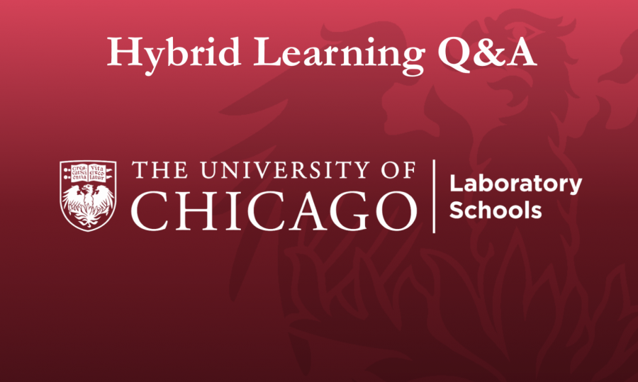 Students raise questions about hybrid learning including topics such as checking temperature, switching between hybrid and distance learning and the restrictive nature of the hybrid plan during lunch meetings on Feb. 18 and 19.