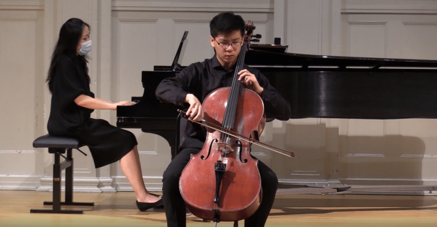 Sophomore William Tan takes the stage with Beethoven's Cello Sonata in C Major in his submission for the new Music and Film Journal.