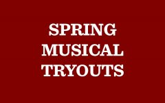 Tryout for the spring musical,