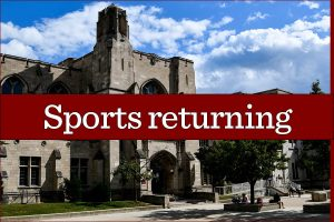 Both spring and winter sports have been given approval to begin their seasons.