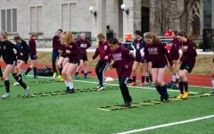 Spring sports training begins in early 2020, just over a year ago.
