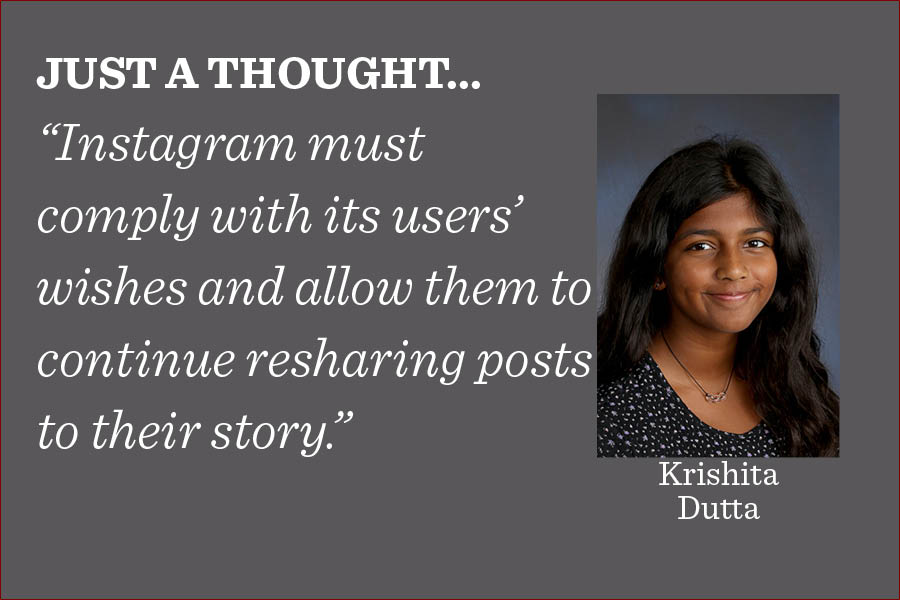 Disabling this feature is harmful to businesses and other individuals who rely on organic sharing of posts, writes city life co-editor Krishita Dutta.