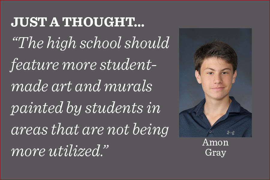 The return to in-person learning provides a chance to make the school feel more welcoming by having more ways for student art to be featured and more spaces where that art can remain for the next generation of Lab students to enjoy, writes assistant editor Amon Gray.
