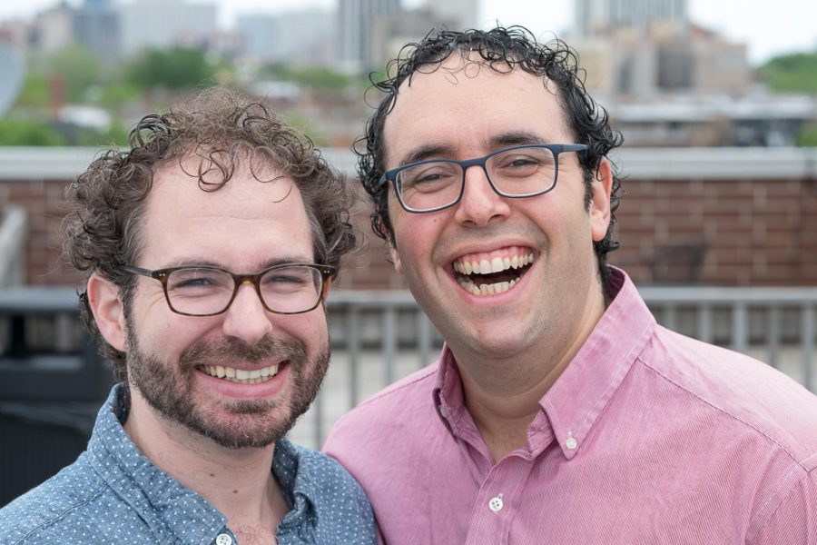 Rabbi D'ror Chankin-Gould and Cantor David Berger have very different experiences from working on opposite sides of the city.