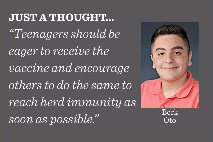 To gather in large groups, return to school without masks and defeat new variants of the virus, herd immunity is absolutely essential, writes managing editor Berk Oto.