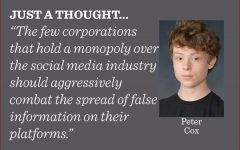The serious issue of misinformation on social media is only getting worse as time goes on, so action must be taken to stop the continuing spread across every facet of the internet, writes reporter Peter Cox.