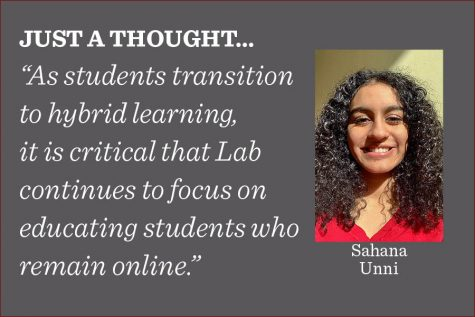 In the rush to return students to the classroom, those who have opted to remain online must not be forgotten, and their education must remain a priority, writes reporter Sahana Unni.