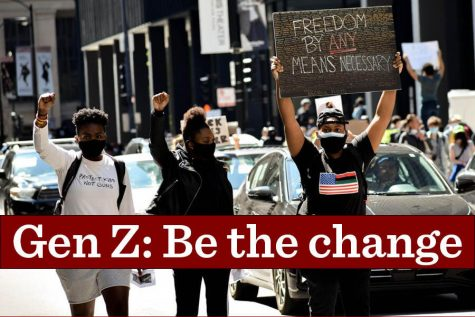 Gen Z has played a key role in organizing recent protests from the gun control movement to Black Lives Matter. Only time will tell if the generation can also  walk the walk.