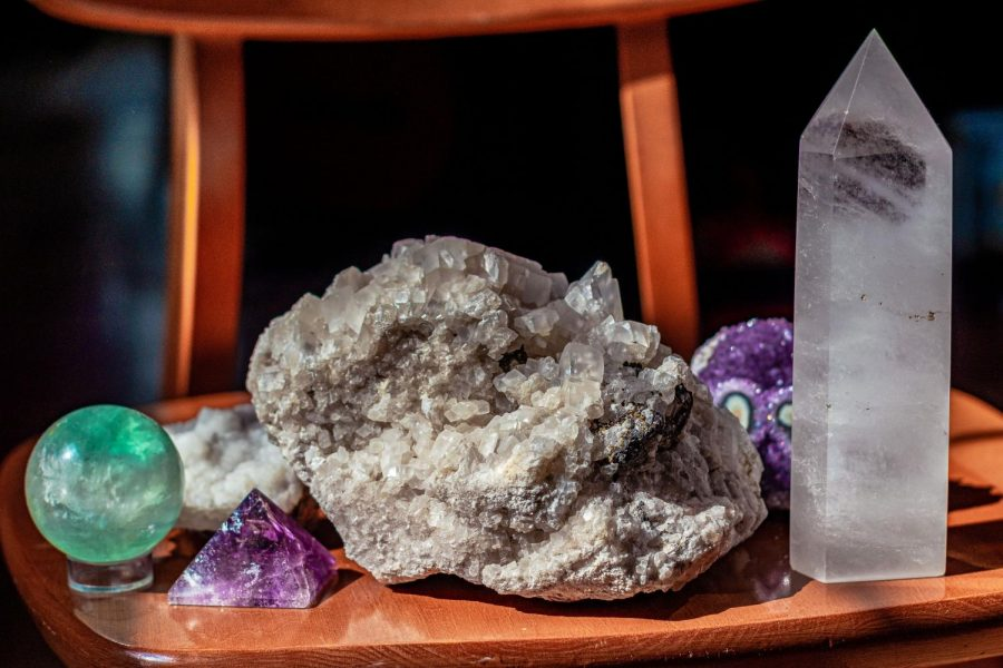 Crystals+have+shot+up+in+popularity+amidst+the+pandemic+with+many+people+looking+to+using+them+for+healing+and+comfort.