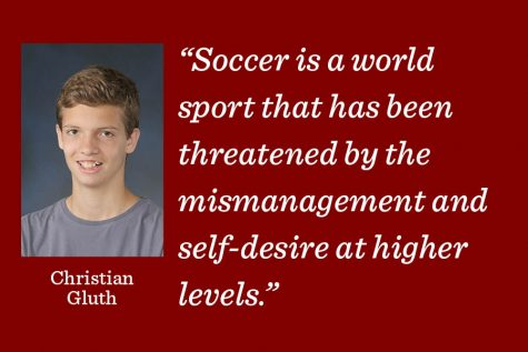 Without fair competition and opportunity, professional soccer is not entertaining, writes reporter Christian Gluth.