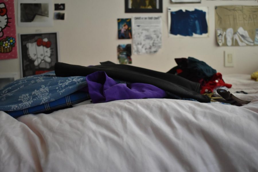 After months of attending school remotely, many students open their drawers to find clothing that no longer fits.