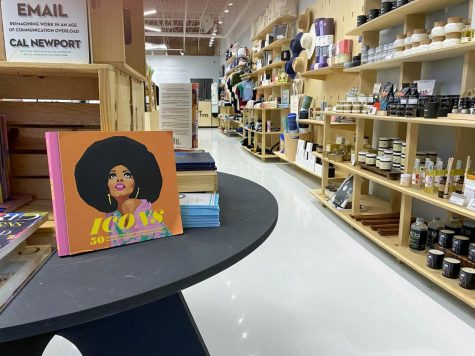 """ICONS. The Silverroom is a boutique located in Hyde Park that focuses on promoting Black culture. The store was filled with books and shirts with images of historically significant Black figures on them. """"I think it's important, … using the merchandise we sell as a way to showcase folks in the community from a historical context,"""" Eric Williams said."""