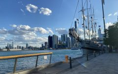 Many students have ventured outdoors to pursue hobbies during the pandemic. Chicagos Navy Pier offers a scenic outdoor space for friends and family to gather.