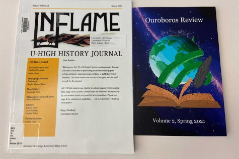The InFlame History and Economics Journal is accepting history papers, and the Ouroboros Review literary translation journal  is accepting student literary translations for their upcoming publications.