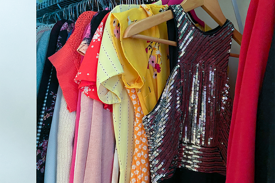 Sophomore+T%C3%A9a+Tamburo%27s+closet+consists+of+an+assortment+of+dresses+that+are+a+few+of+her+options+for+prom.+This+year%E2%80%99s+prom+will+take+place+on+Kenwood+Mall+on+June+5+from+8-10%3A30+p.m.