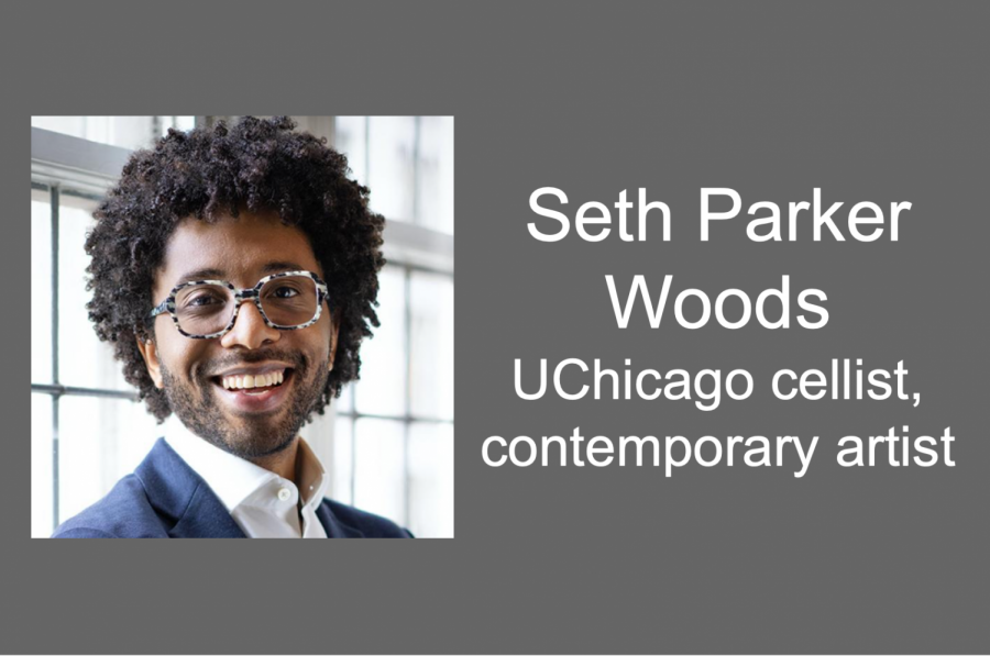Seth Parker Woods, a University of Chicago Cellist and contemporary artist experiments with the boundaries of contemporary music in his new Sound/Sites concert series.