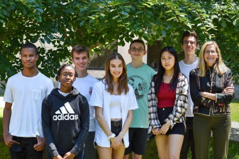 Eight U-High students were awarded the gold medal for their projects  in the state level of this year