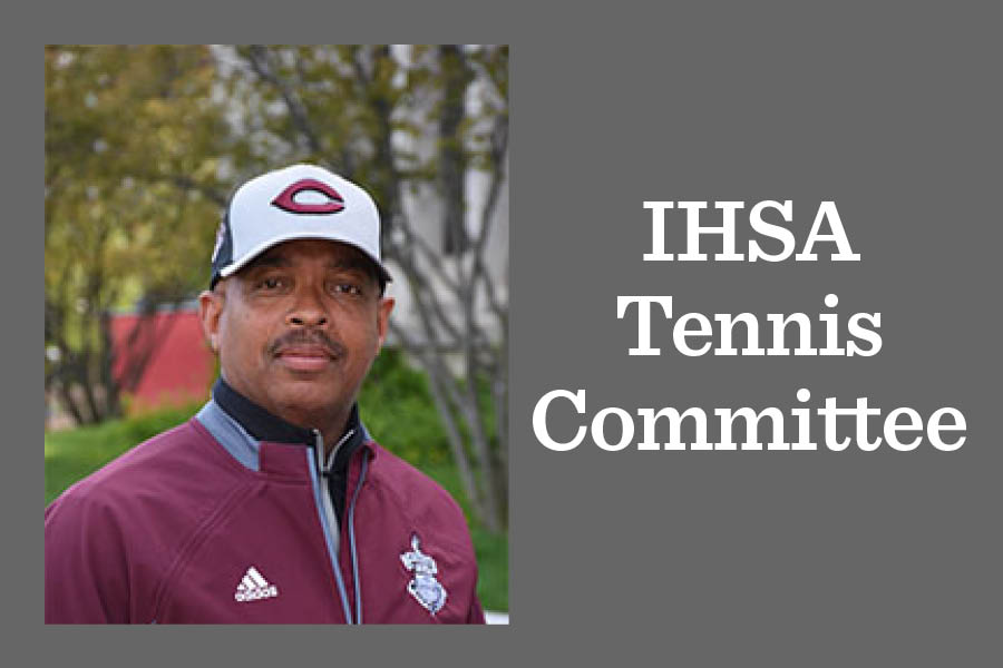 Dauwad Talib, head coach of the varsity tennis team, has been appointed to the IHSA tennis advisory committee.