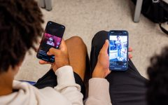 """Students scroll through their """"For You"""" pages: never-ending streams of videos curated by TikTok's algorithm. While the algorithm can bring help members of a community or fanbase together, it can just as easily create isolated """"echo chambers."""""""