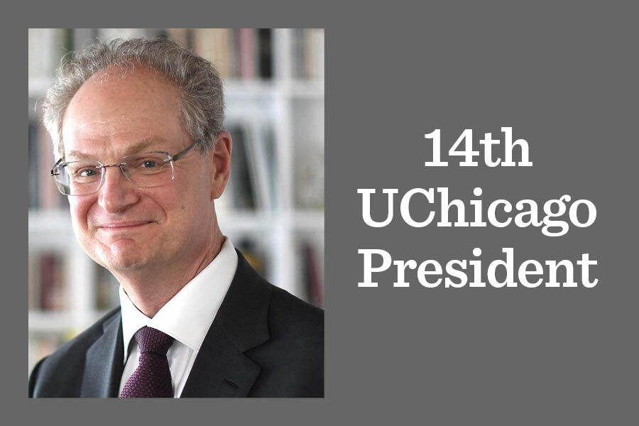 Paul Alivisatos, the University of Chicago's 14th president, will be inaugurated Oct. 29 at 10 a.m. in Rockefeller Memorial Chapel.