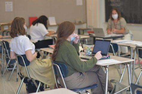 Students feel an increase in stress with the sudden change in workload.