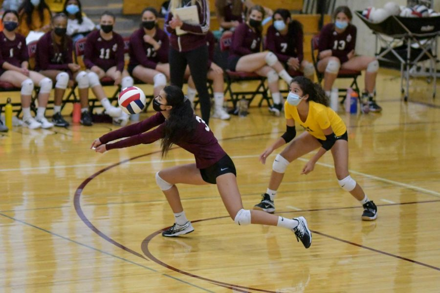 The varsity volleyball team won the Independent School League championship for the first time since 2004.
